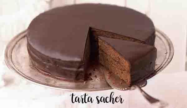 Gâteau de Sacher avec Thermomix