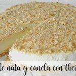 Gâteau à la crème et à la cannelle avec Thermomix