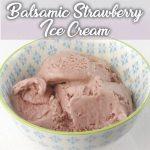 Crème glacée à la fraise balsamique avec Thermomix