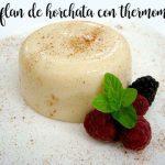 Flan Horchata avec le thermomix