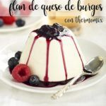 Flan au fromage Burgo avec Thermomix