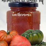 Confiture de tomates au thermomix