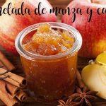 Confiture de pommes et cannelle au Thermomix