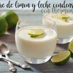 Dessert au citron et au lait concentré avec thermomix