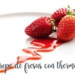 Comment préparer du sirop de fraise avec le Thermomix
