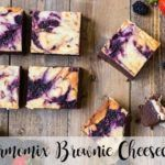 Brownie Cheesecake avec Thermomix