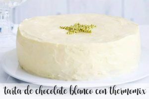 Gâteau au chocolat blanc avec Thermomix