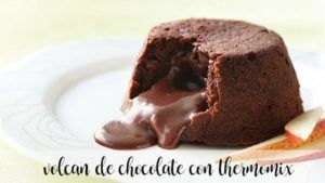 Volcan au chocolat avec thermomix