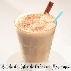 Smoothie au lait et caramel avec Thermomix