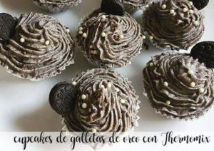 Petits gâteaux aux biscuits Oreo avec Thermomix