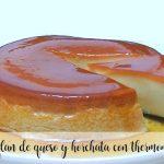 Flan au fromage et horchata avec Thermomix