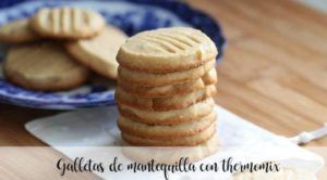 Biscuits au beurre avec thermomix