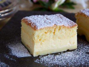 Petit gâteau magique à la vanille avec Thermomix