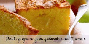 Gâteau moelleux aux poires et amandes au Thermomix