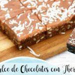 Bonbons au chocolat avec thermomix