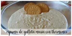 Mousse Biscuit Maria avec Thermomix