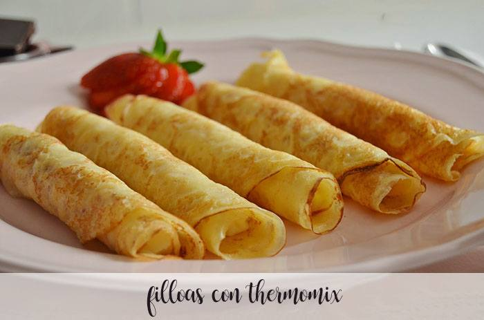 Filloas avec Thermomix