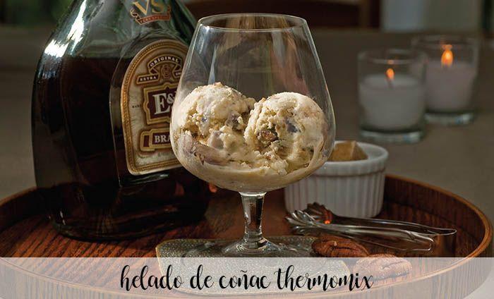 Glace au Cognac avec Thermomix