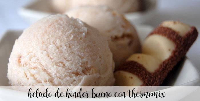 Kinder Bueno glace au thermomix