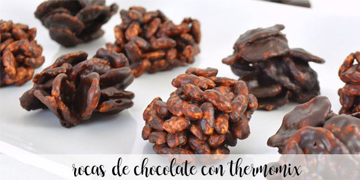 Chocolate Rocks avec Thermomix