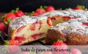 Gâteau aux fraises au Thermomix