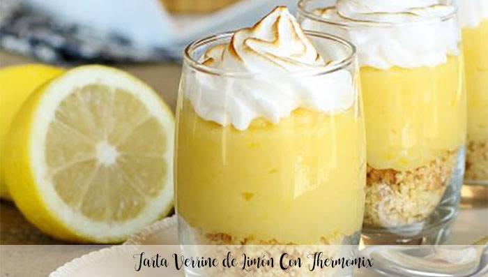 Gâteau Verrine Au Citron Avec Thermomix