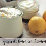 Yaourt au citron avec thermomix