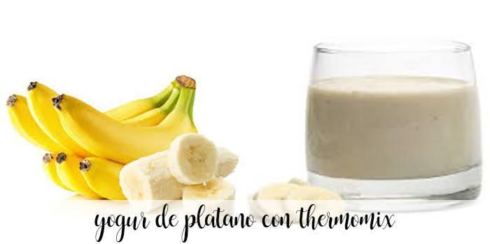 Yaourt à la banane avec thermomix