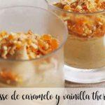 Mousse au caramel et à la vanille avec Thermomix