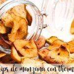 Chips de pomme avec Thermomix
