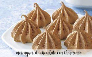 Meringues au chocolat avec Thermomix