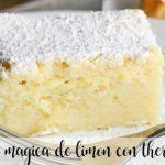 Gâteau au citron magique avec thermomix