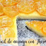 Gâteau orange facile avec Thermomix