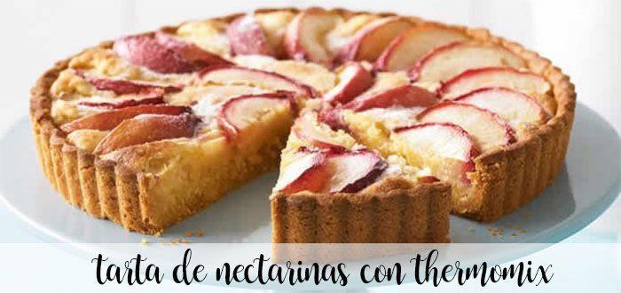 Gâteau à la nectarine avec Thermomix