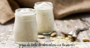 Yaourt au lait d'amande avec Thermomix