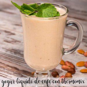 Yaourt au café liquide avec Thermomix