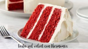 Gâteau Thermomix Velours Rouge