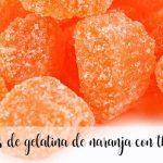 Bonbons à la gelée d'orange avec thermomix
