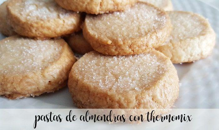 Pâtes aux amandes au thermomix