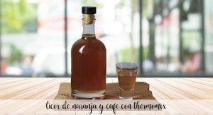 Liqueur d'orange et de café au thermomix