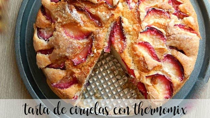 Gâteau aux prunes avec Thermomix