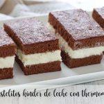 Gâteaux Milk Kinder avec thermomix