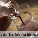Liqueur de chocolat avec thermomix