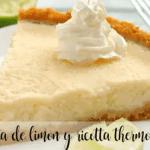 Gâteau au citron et à la ricotta avec thermomix