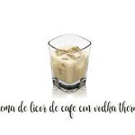 Liqueur de café avec vodka et Thermomix