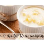 Crème au chocolat blanc avec thermomix