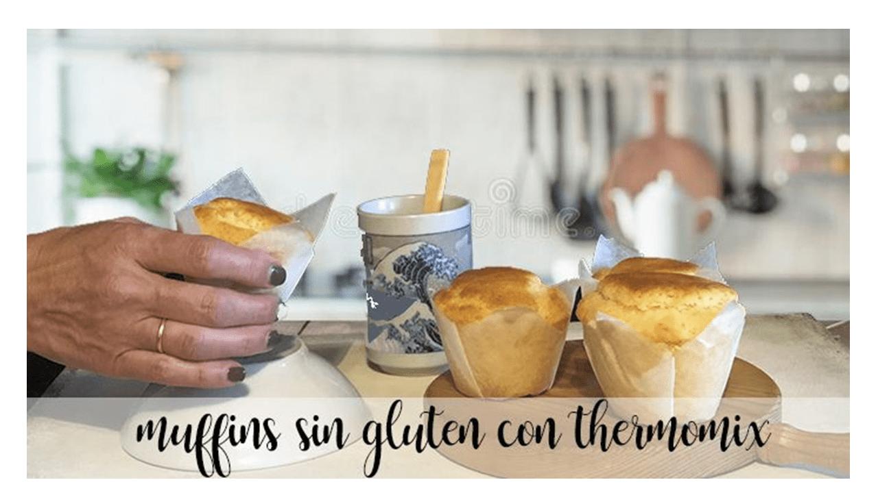 Muffins sans gluten avec thermomix