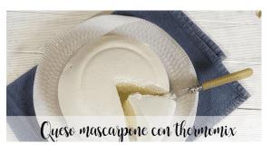 Mascarpone avec thermomix