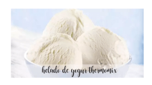 Recette de crème glacée au yogourt avec Thermomix