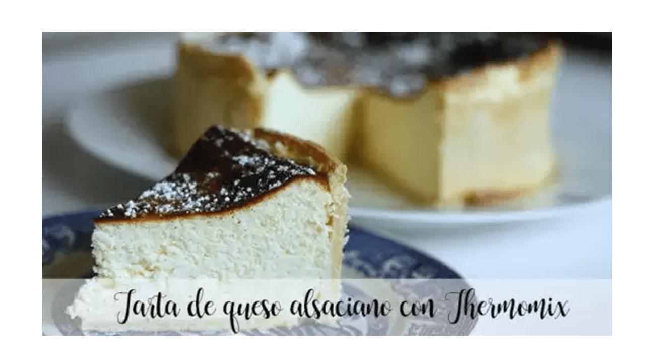 Gâteau au fromage alsacien avec Thermomix